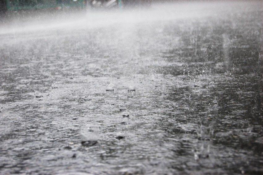 雨の日の装備